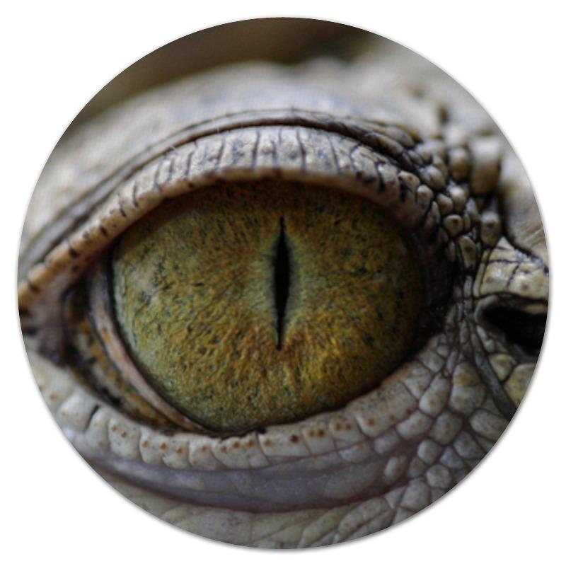 Printio Коврик для мышки (круглый) Рептилии