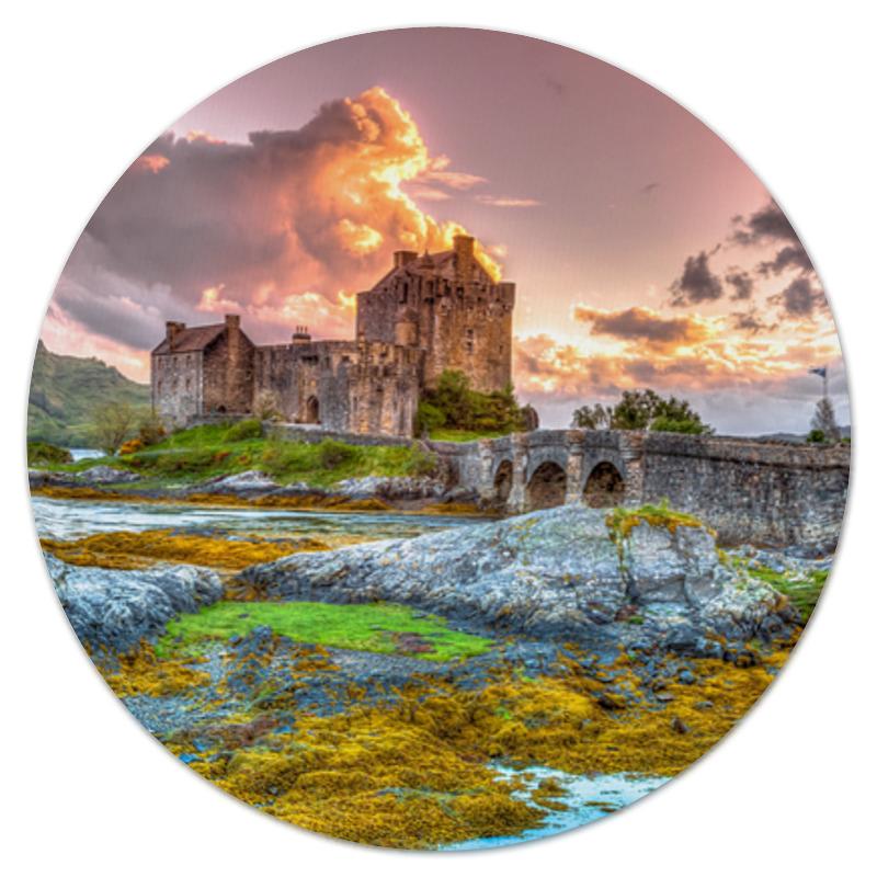 Фото - Printio Коврик для мышки (круглый) Замок в шотландии printio коврик для мышки замок