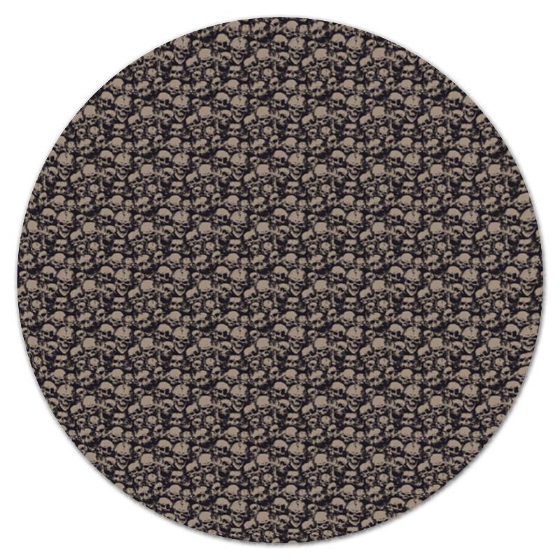 Printio Коврик для мышки (круглый) Черепа printio коврик для мышки круглый черепа