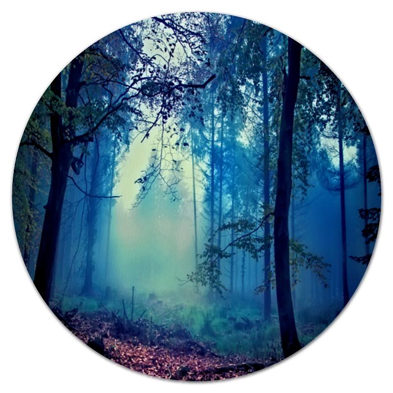 Printio Коврик для мышки (круглый) Сумрачный лес printio коврик для мышки круглый скалы и лес