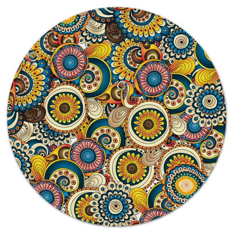 printio коврик для мышки круглый макро цветы Printio Коврик для мышки (круглый) Красочные цветы