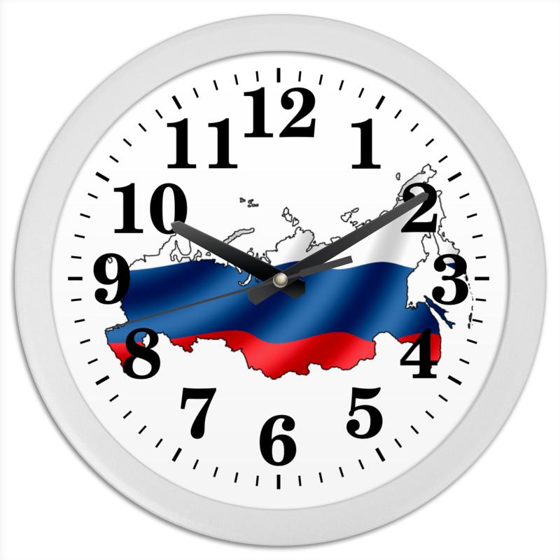 Printio Часы круглые из пластика Россия