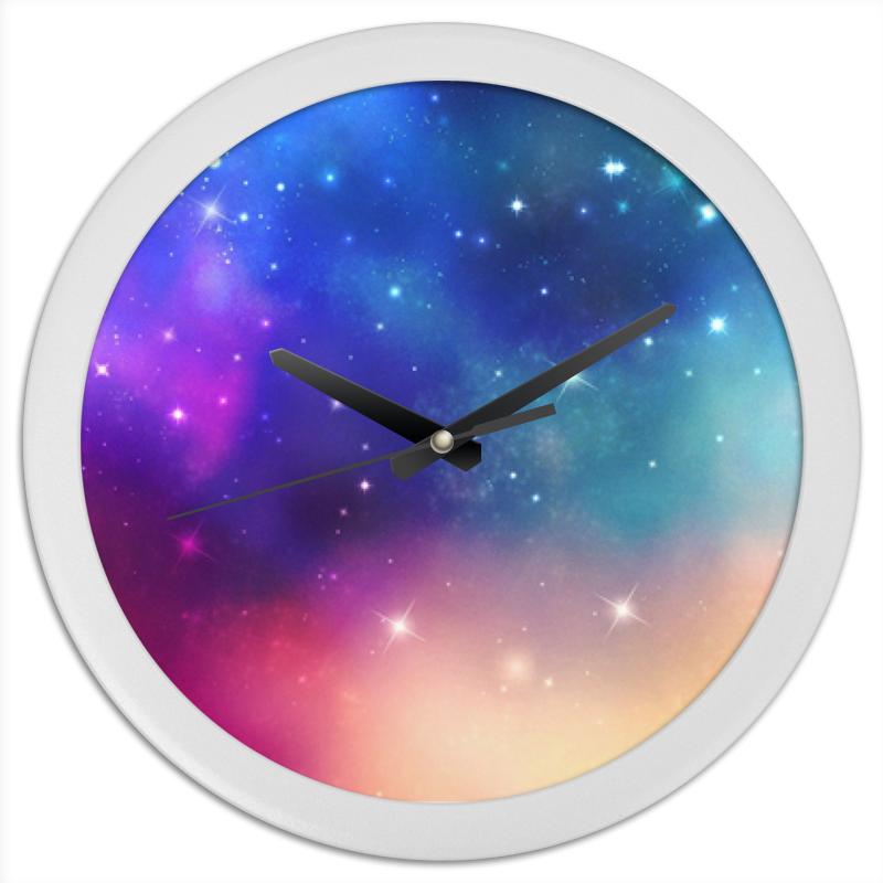 Фото - Printio Часы круглые из пластика Часы космос printio часы круглые из пластика одиночество