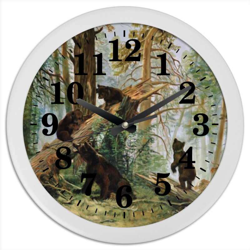 Printio Часы круглые из пластика Часы настенные