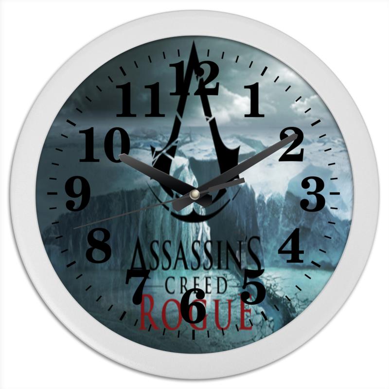 Printio Часы круглые из пластика Assassins