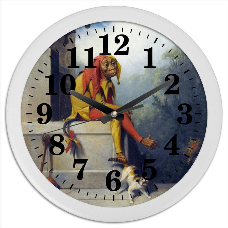 Printio Часы круглые из пластика Для чего я был создан? (уильям берд)