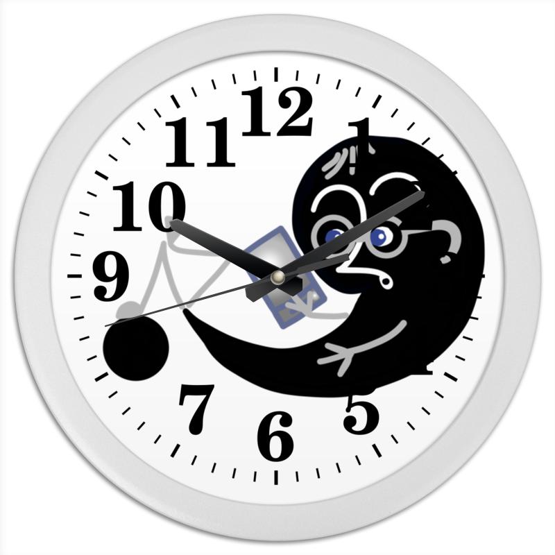 Printio Часы круглые из пластика Как хорошо уметь читать
