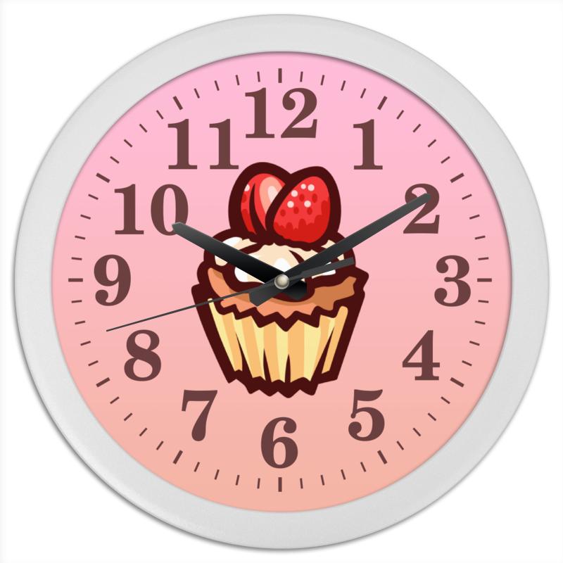 Фото - Printio Часы круглые из пластика Cake printio часы круглые из пластика одиночество