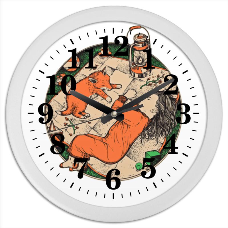Фото - Printio Часы круглые из пластика Сладкий сон printio часы круглые из пластика одиночество