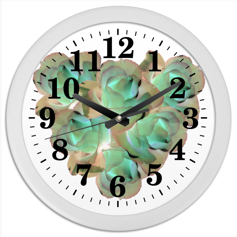 Printio Часы круглые из пластика Холодное сердце