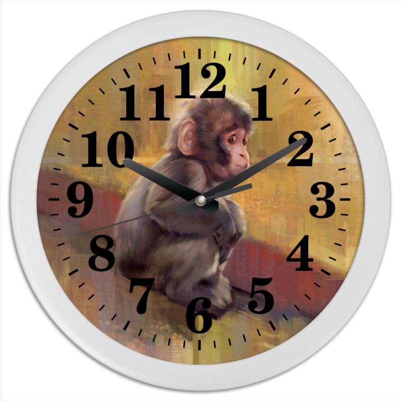Фото - Printio Часы круглые из пластика Маленький гоку printio часы круглые из пластика одиночество
