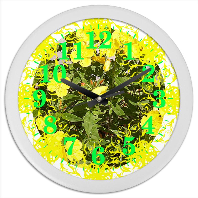 Фото - Printio Часы круглые из пластика Яркий день. printio часы круглые из пластика одиночество