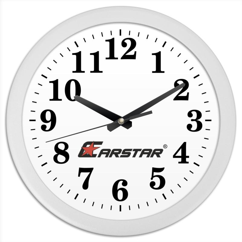 Printio Часы круглые из пластика Carstar