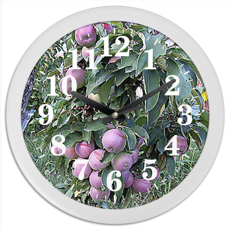 Фото - Printio Часы круглые из пластика Время урожая. printio часы круглые из пластика одиночество
