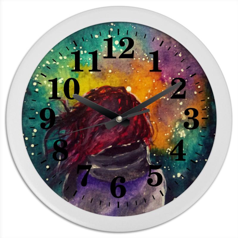 Printio Часы круглые из пластика Без названия