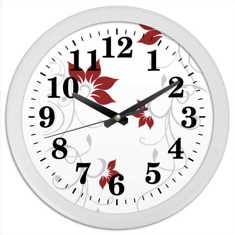Фото - Printio Часы круглые из пластика Завиток whorl printio часы круглые из пластика одиночество