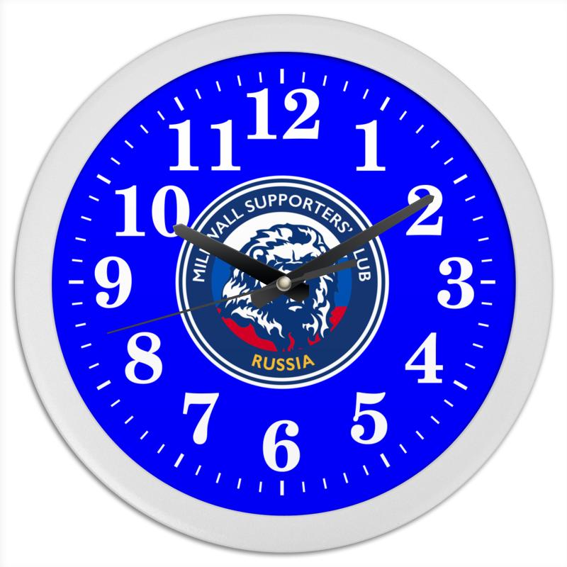 Printio Часы круглые из пластика Millwall msc watch