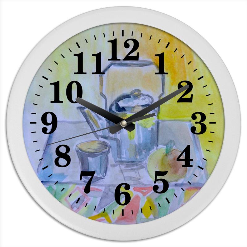 Printio Часы круглые из пластика На кухне