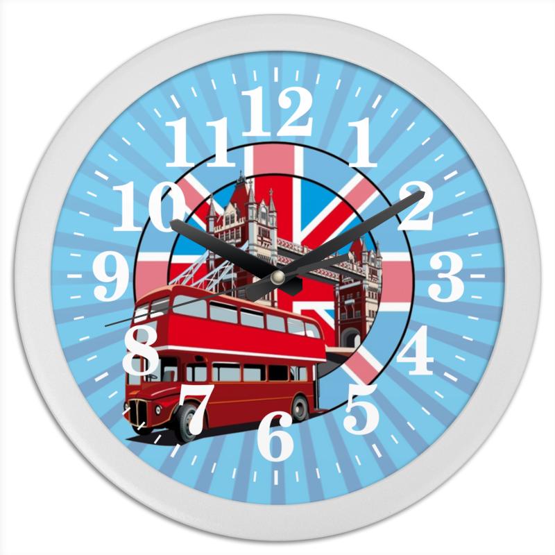 Printio Часы круглые из пластика London