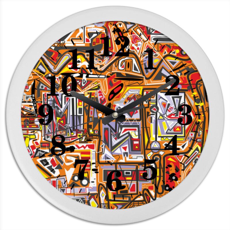 Printio Часы круглые из пластика Zzzeert