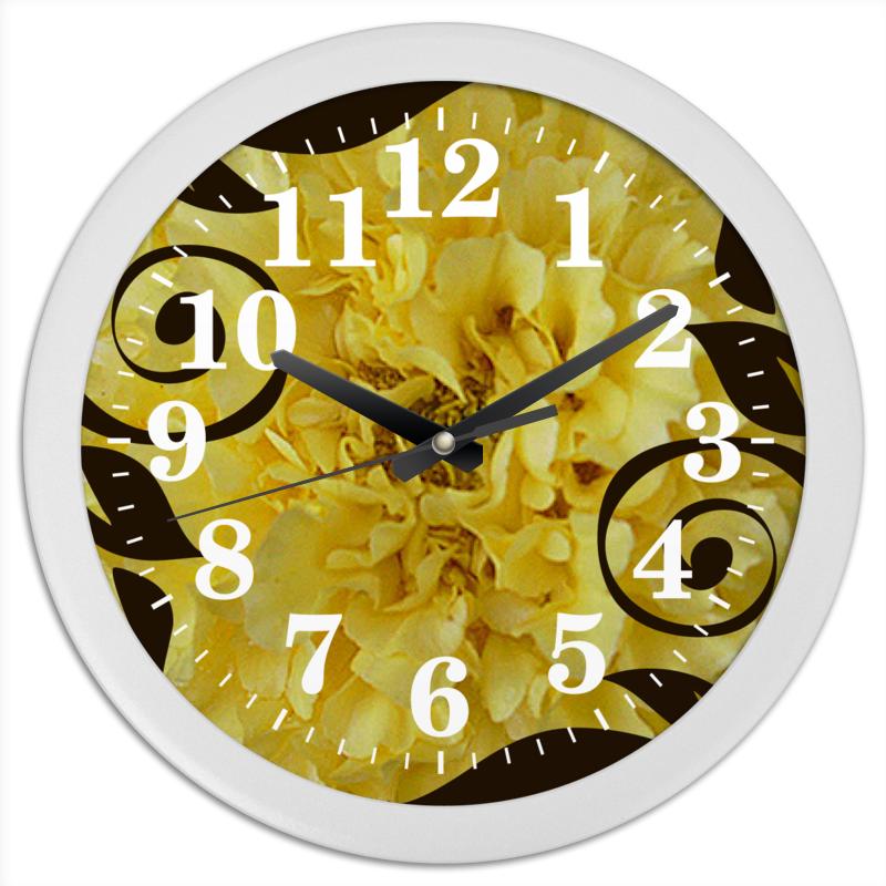Фото - Printio Часы круглые из пластика Бархатное время. printio часы круглые из пластика одиночество