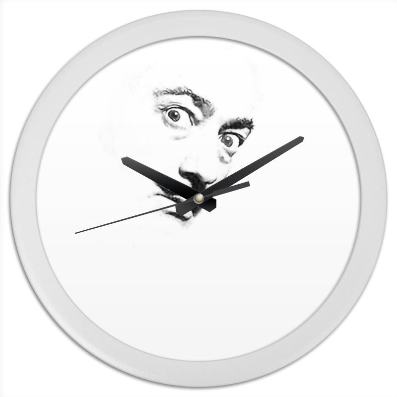 Printio Часы круглые из пластика Dali clock