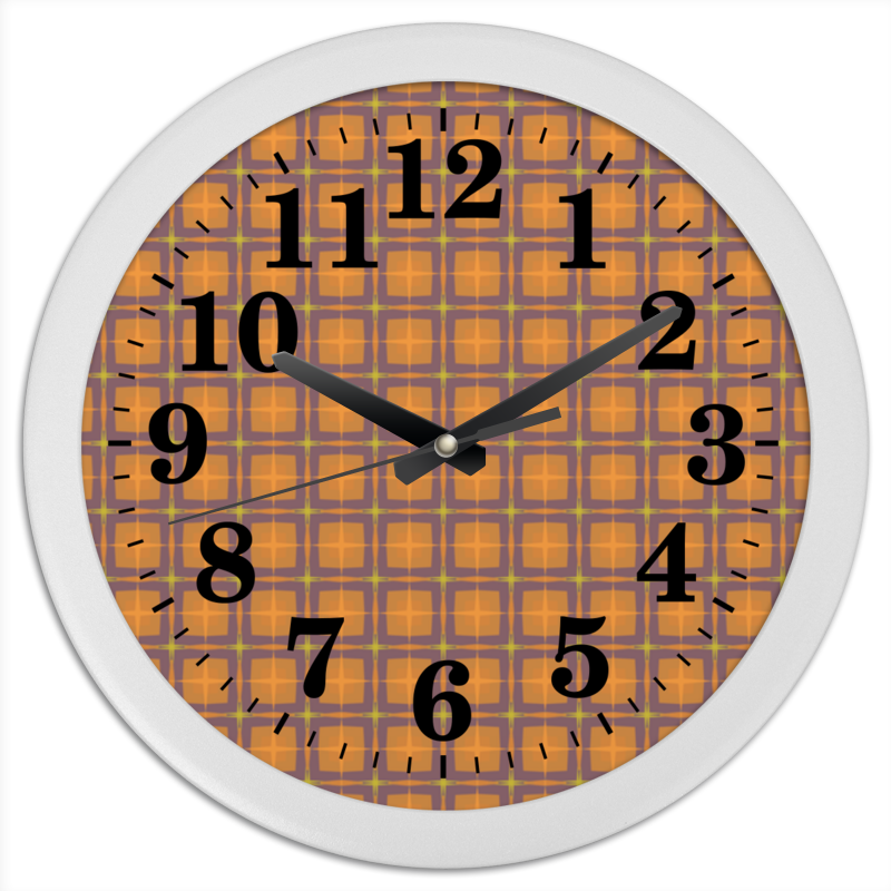 Printio Часы круглые из пластика Detroit
