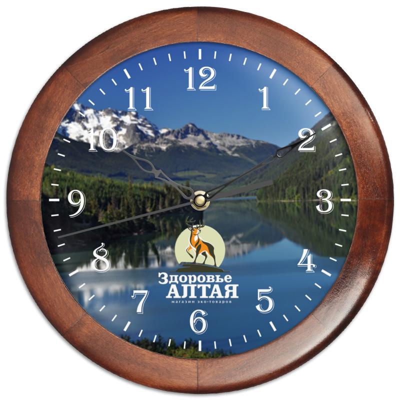 Printio Часы круглые из дерева