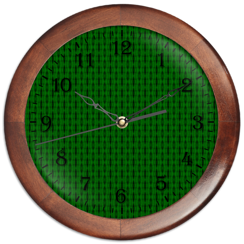Printio Часы круглые из дерева Machine