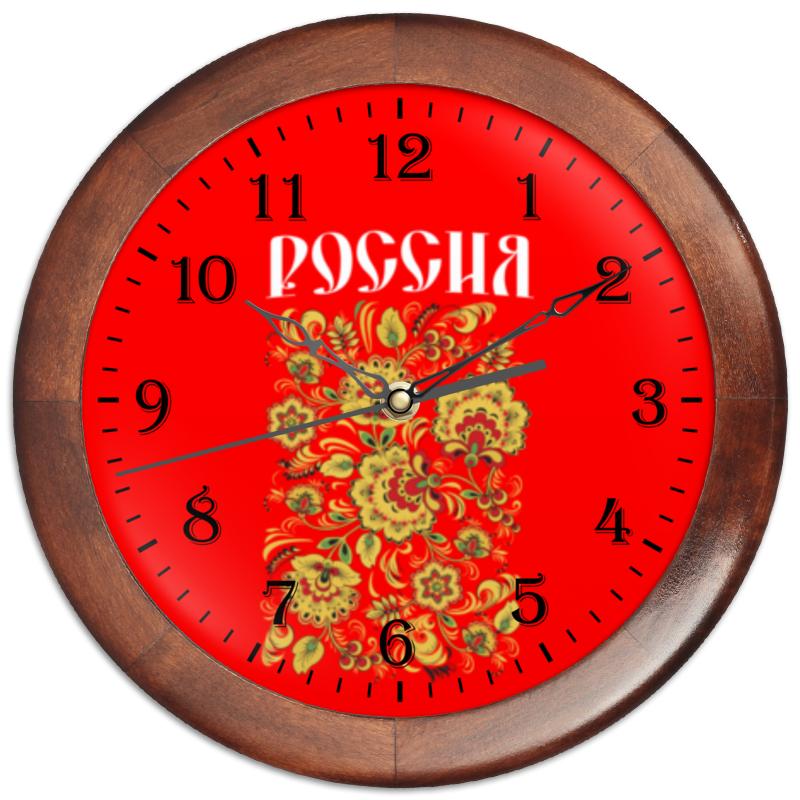 Printio Часы круглые из дерева Россия