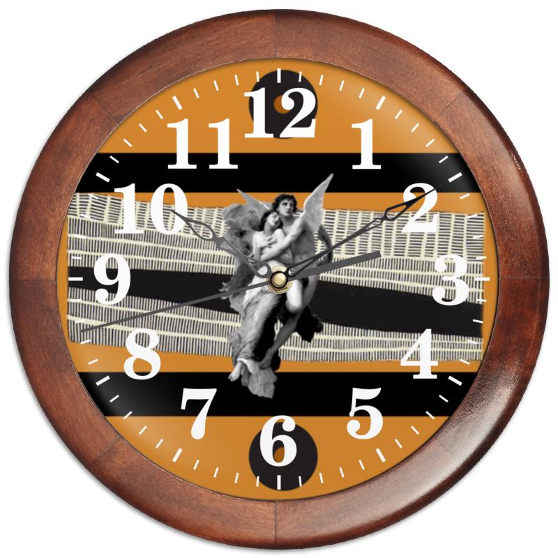 Printio Часы круглые из дерева Любовь
