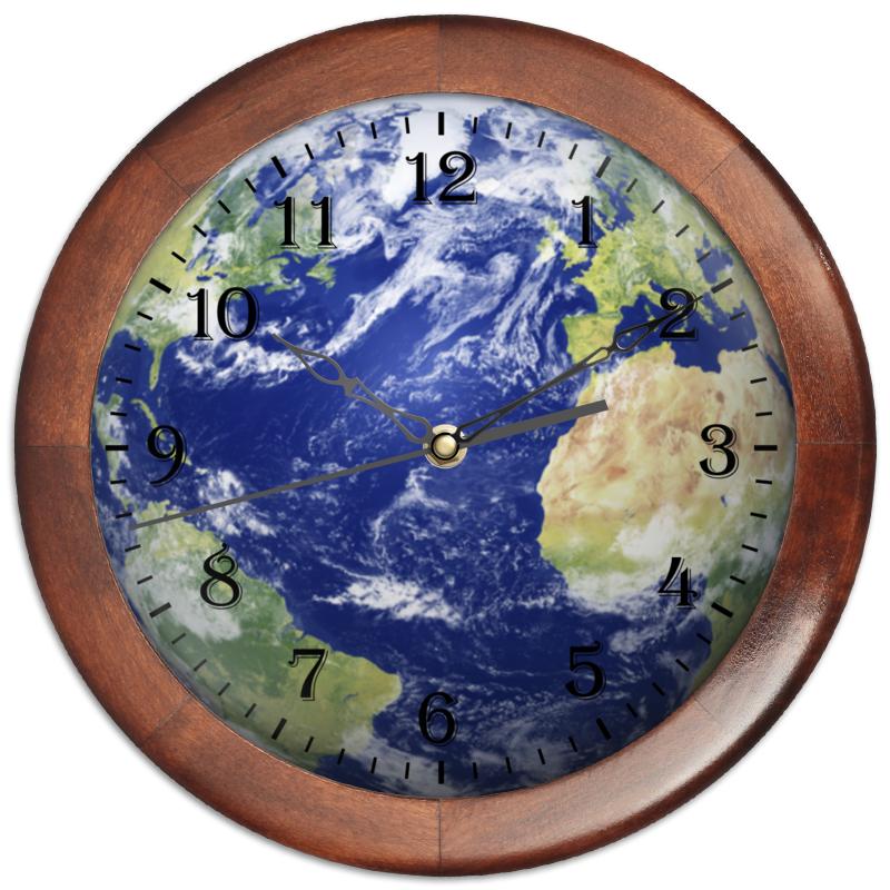 Фото - Printio Часы круглые из дерева Мировые часы printio часы круглые из дерева крыса и сыр