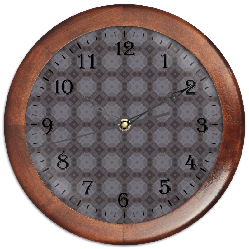 Printio Часы круглые из дерева Static