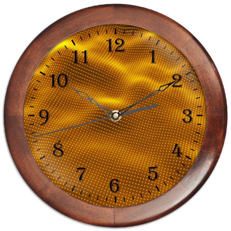 Фото - Printio Часы круглые из дерева Dynamic waves printio часы круглые из дерева крыса и сыр