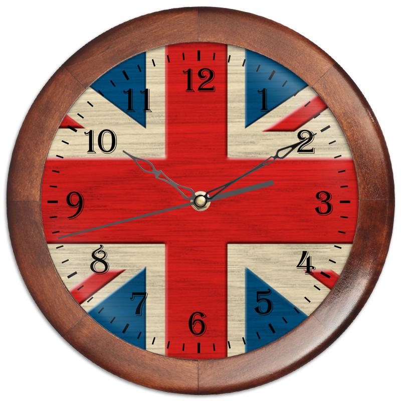 Printio Часы круглые из дерева Англия
