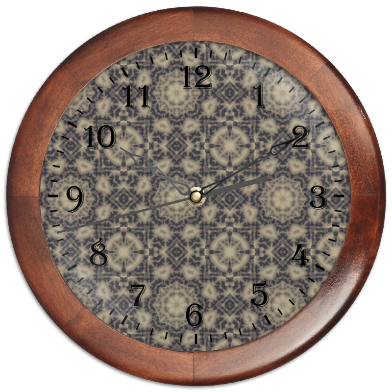 Printio Часы круглые из дерева Noisy