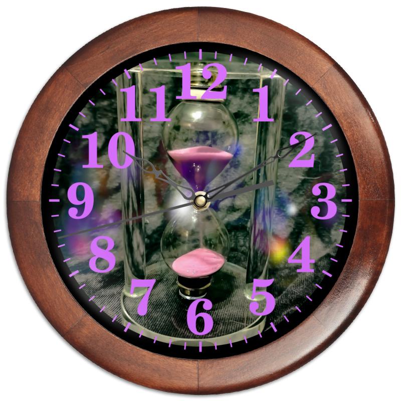 Printio Часы круглые из дерева Время.