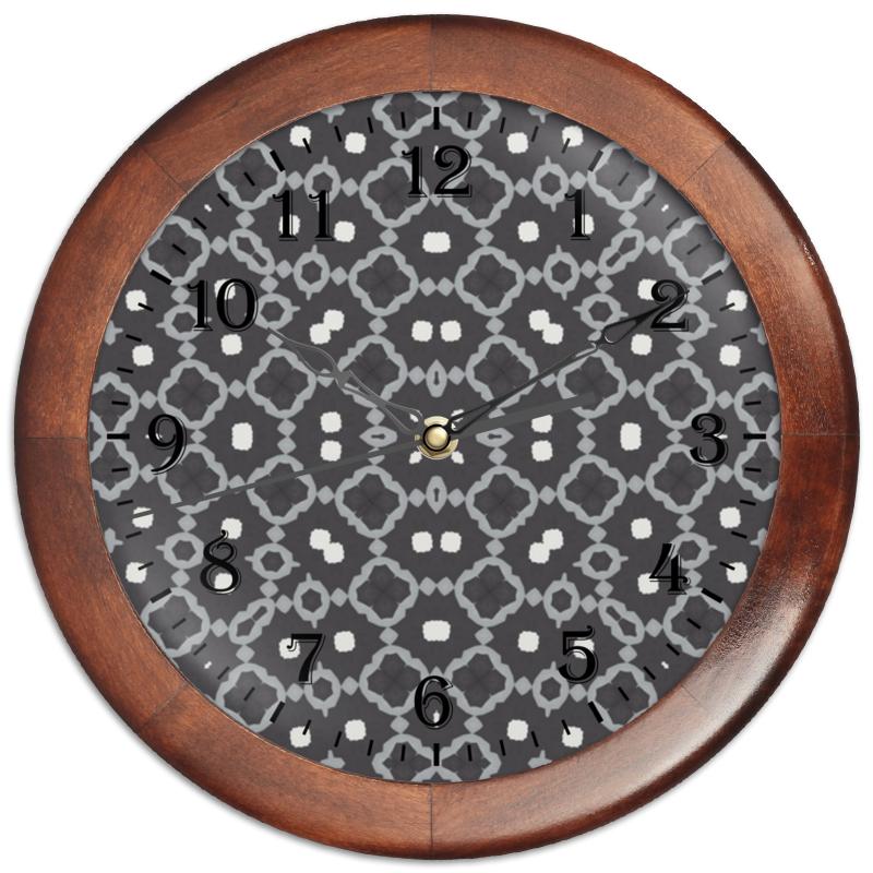 Printio Часы круглые из дерева Returnal