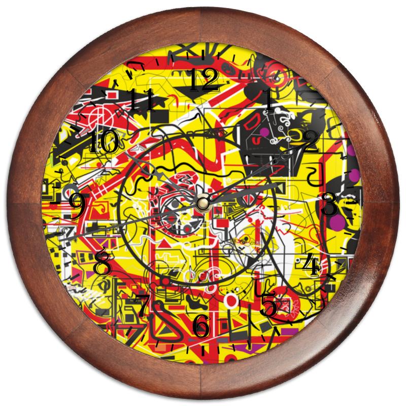 Фото - Printio Часы круглые из дерева Паутинка printio часы круглые из дерева крыса и сыр