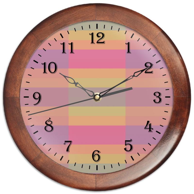Printio Часы круглые из дерева Tf3olo