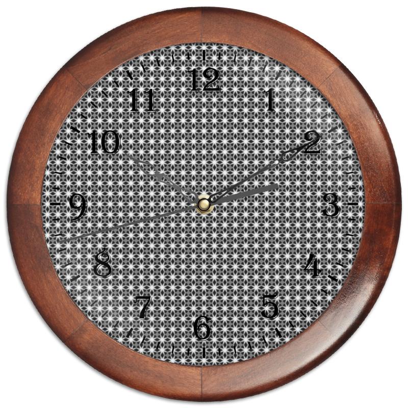 Printio Часы круглые из дерева Valentine