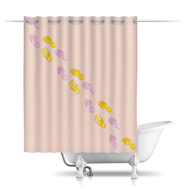 Printio Шторы в ванную Сланцы фото