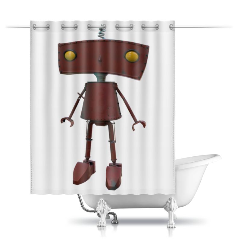 Printio Шторы в ванную Bad robot