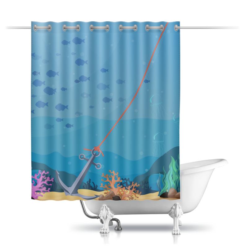 Printio Шторы в ванную Морское дно