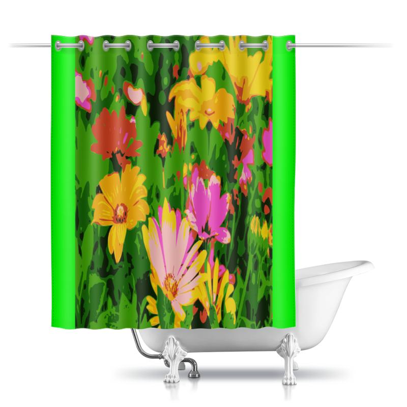 Printio Шторы в ванную Цветочная душа