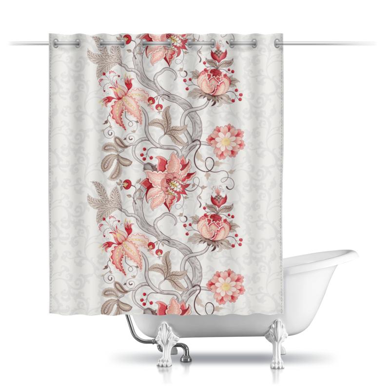 Printio Шторы в ванную Цветы printio шторы в ванную полевые цветы