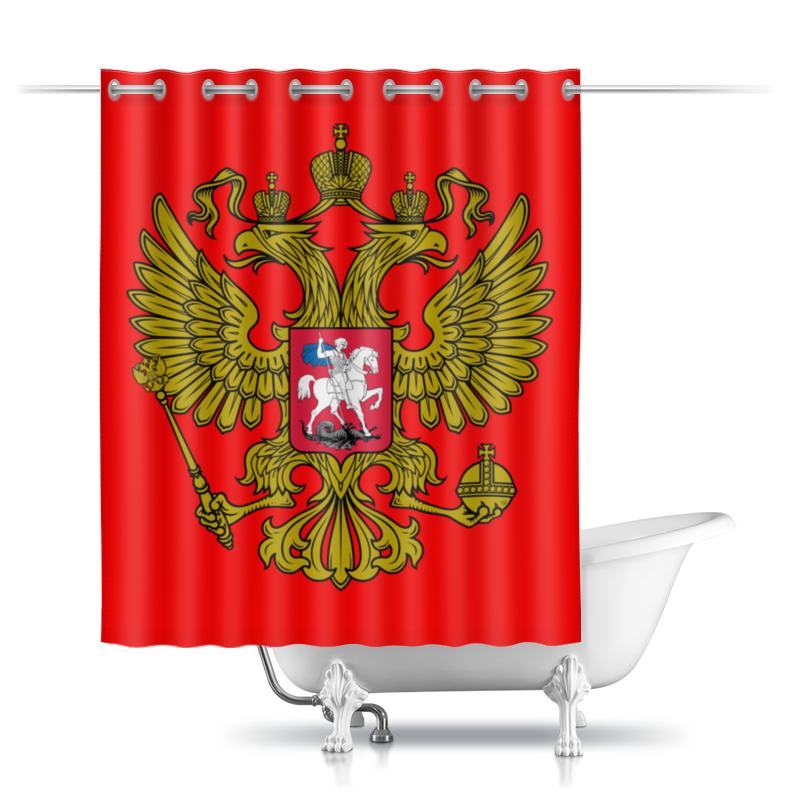 Printio Шторы в ванную Герб россии