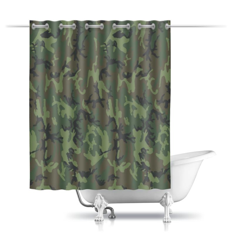 Фото - Printio Шторы в ванную Камуфляж printio шторы в ванную черепушка