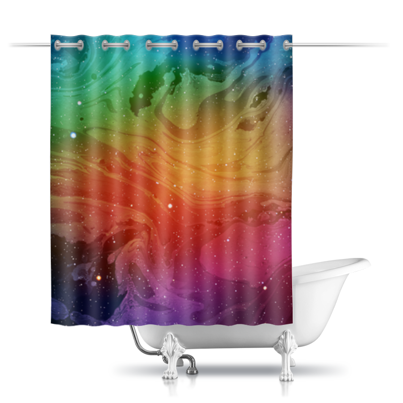 Фото - Printio Шторы в ванную Без названия printio шторы в ванную черепушка