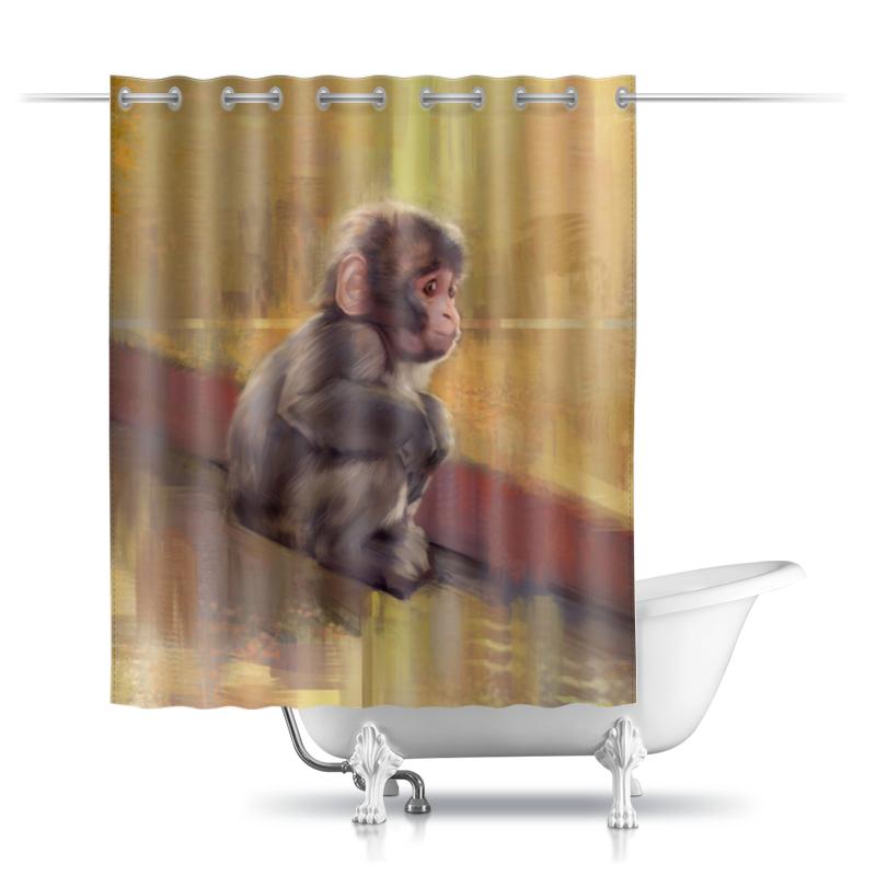 Printio Шторы в ванную Маленький гоку